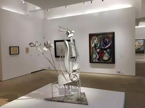 """巴黎国立毕加索美术馆 """"毕加索1932:情色之年""""展览现场"""