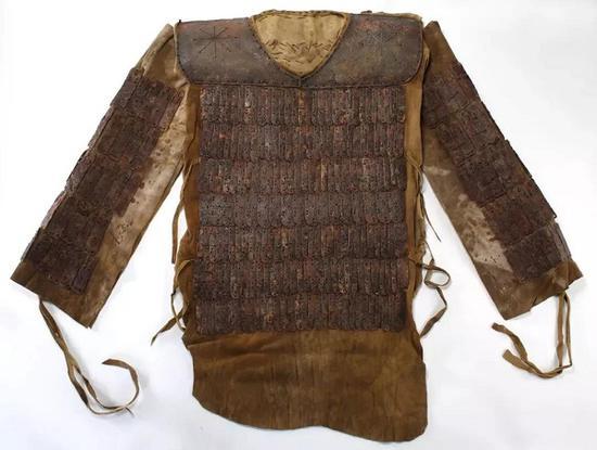 铠甲 铁 大蒙古国 内蒙古博物院藏