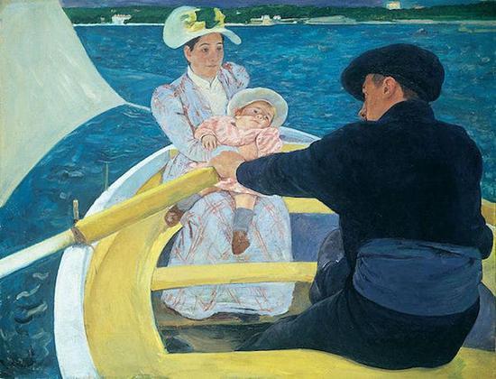 《船上聚会》,1893-1894