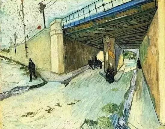 ?1888年《隆河上的汀克泰勒桥》