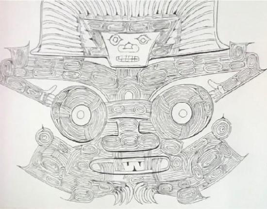 玉琮标志性的纹样