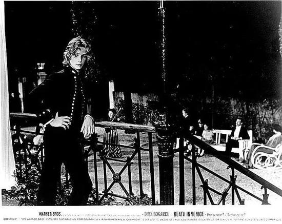 1971年电影《魂断威尼斯 Morte a Venezia》剧照。