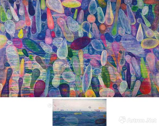 黄宇兴2014年的《气泡不会消灭时间也不会流向未来》在香港佳士得夜场中以118.75港元成交,刷新了艺术家的拍卖纪录