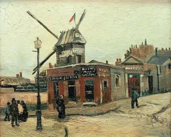 ? 1886年《磨坊》