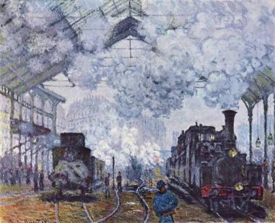 《圣拉查尔火车站》