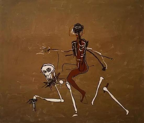 Jean-Michel Basquiat: Riding With Death (1988)