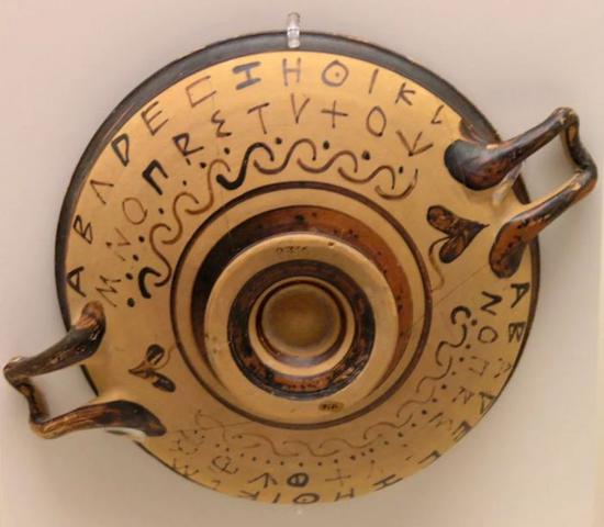 古希腊字母
