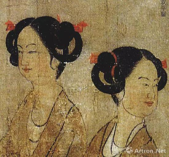 唐 阎立本 《历代帝王图》(局部)