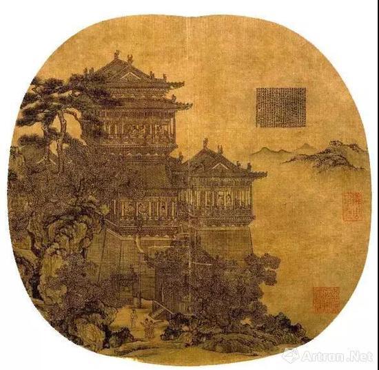 ● 元夏永《岳阳楼图》