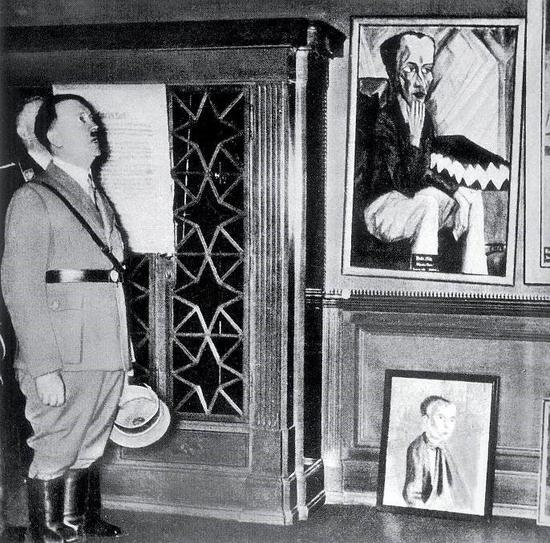第三帝国的艺术掠夺 希特勒曾梦想做画家?