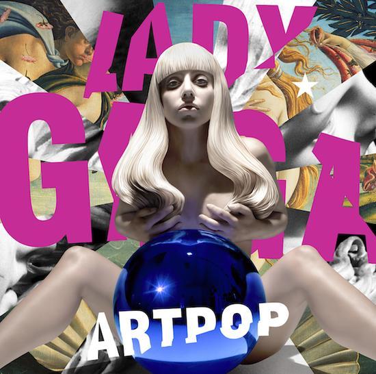 Lady Gaga ARTPOP专辑封面,2013年,艺术品?Jeff Koons