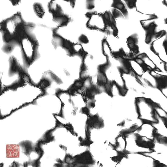 傅文俊数绘摄影作品《变异的细胞》
