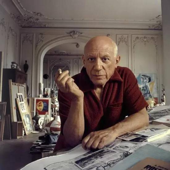 """""""我的每幅画中都装有我的血,这就是我的画的含义。"""""""