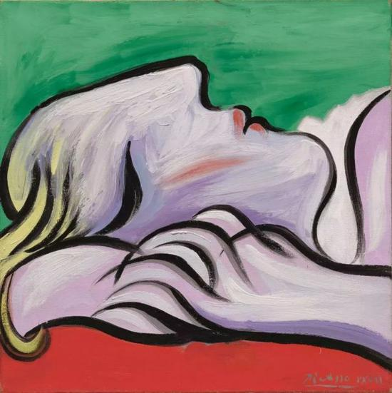 他们的做爱情景也被毕加索,自然生动地表现在画布上,既不忌讳也不存偏见。