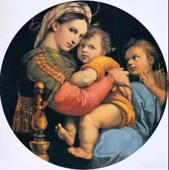 拉斐尔《圣母像》