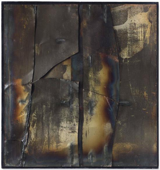 Alberto Burri (阿尔贝托·布里 ) 《Ferro T》 585.875万英镑