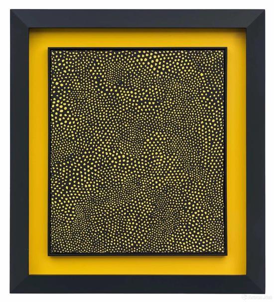 草间弥生 《INFINITY-NETS 1959》布面油画 1959年 53x45.5cm
