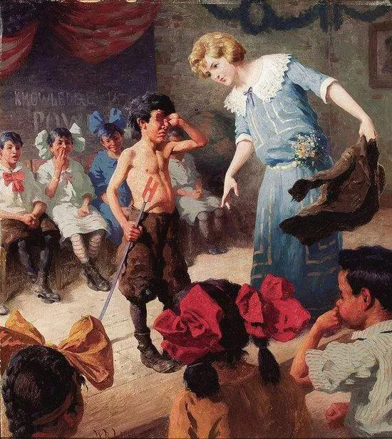 William Robinson The Chastised Pupil