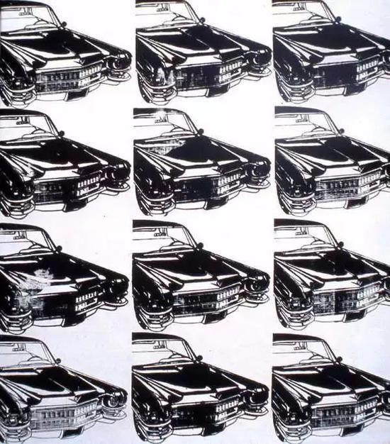 安迪 · 沃霍尔的《12 辆凯迪拉克》