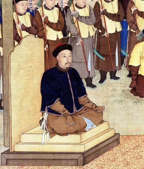 《塞宴四事图》中乾隆皇帝的形象