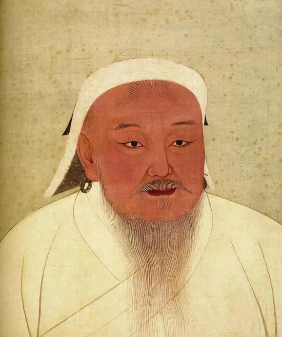 元太祖皇帝画像 台北故宫博物院藏
