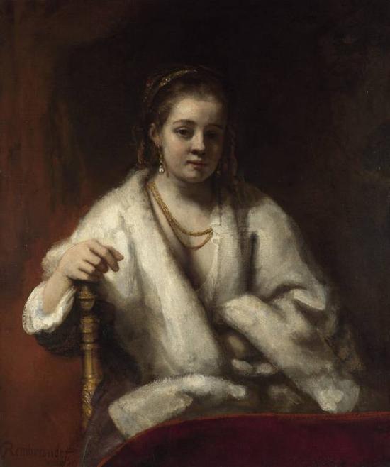 伦勃朗《亨德瑞克?斯多弗的肖像》