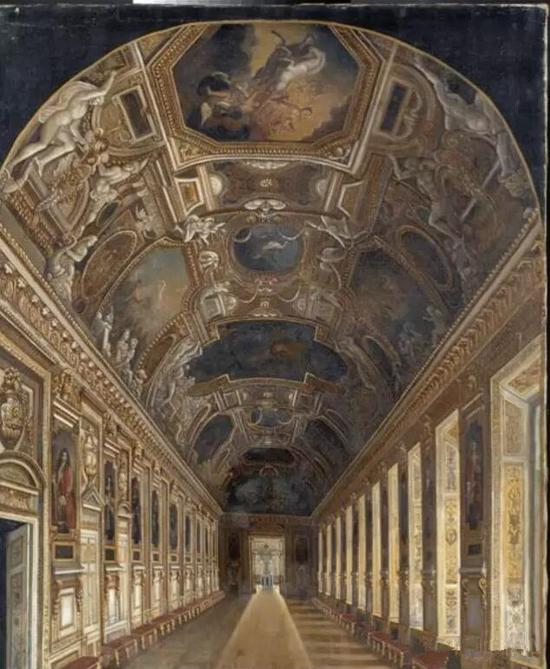 阿波罗画廊,卢浮宫博物馆