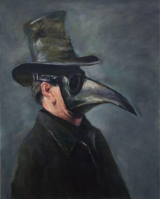 《我们的肖像》布面油画 100*80 cm 2015