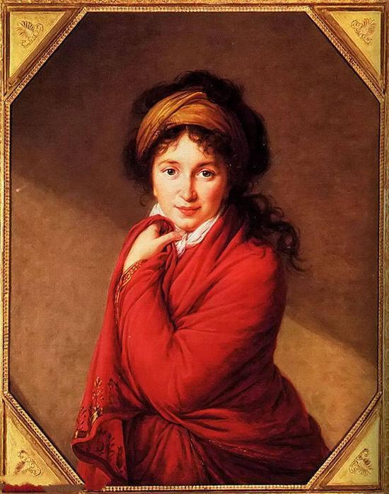 格罗韦恩伯爵夫人的画像