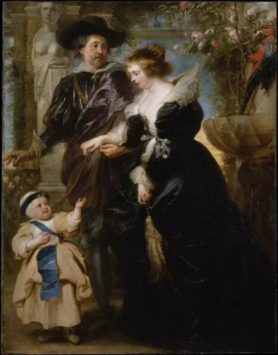 Rubens, His Wife Helene Fourment, and Their Son