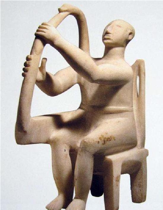 基克拉迪群岛的雕像