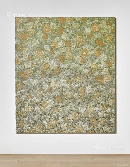 梁远苇《无题》布面油画140×120cm 2013年2017香港苏富比秋拍成交价:200万港元