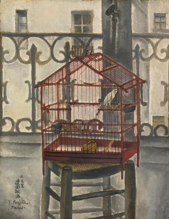 德包尔肯和鸟笼 1917