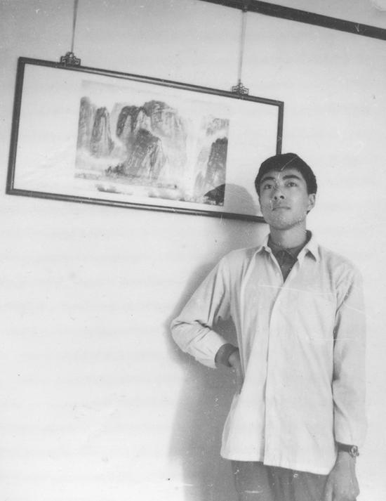 谷文达与他的早期山水画
