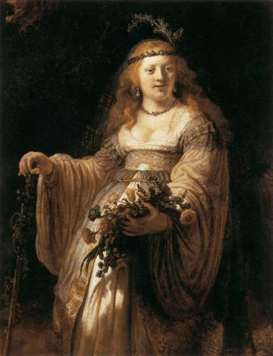 伦勃朗1635年