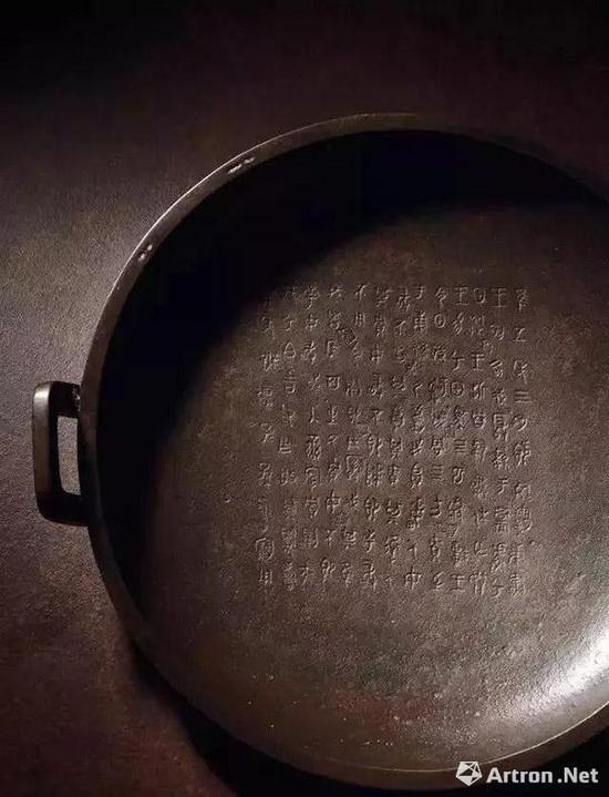 青铜兮甲盘 2.57亿元 西泠拍卖