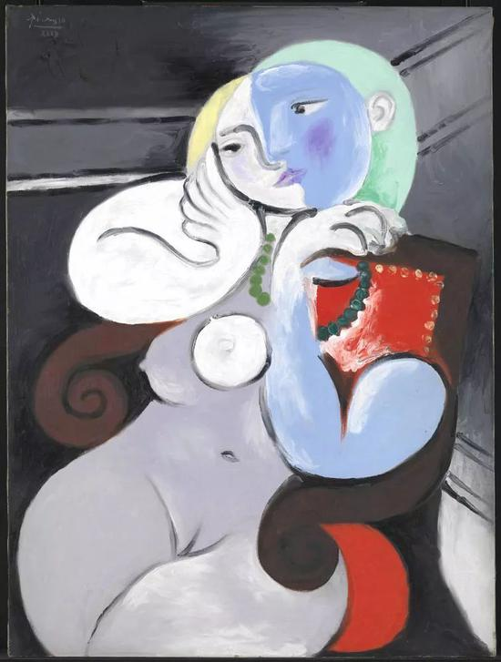 《红扶手椅上的裸女》(Nude Woman in a Red Armchair)