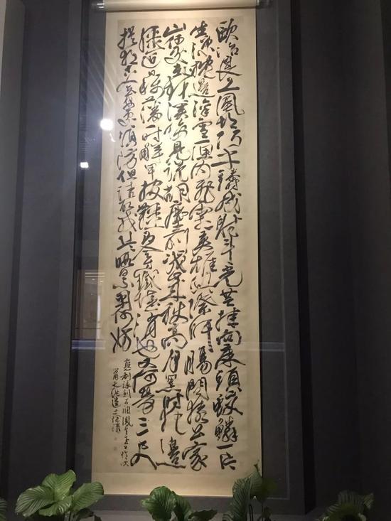南博青藤白阳大展上徐渭《应制咏剑诗》