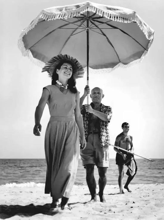 毕加索与下一位情人弗朗索瓦丝·吉洛