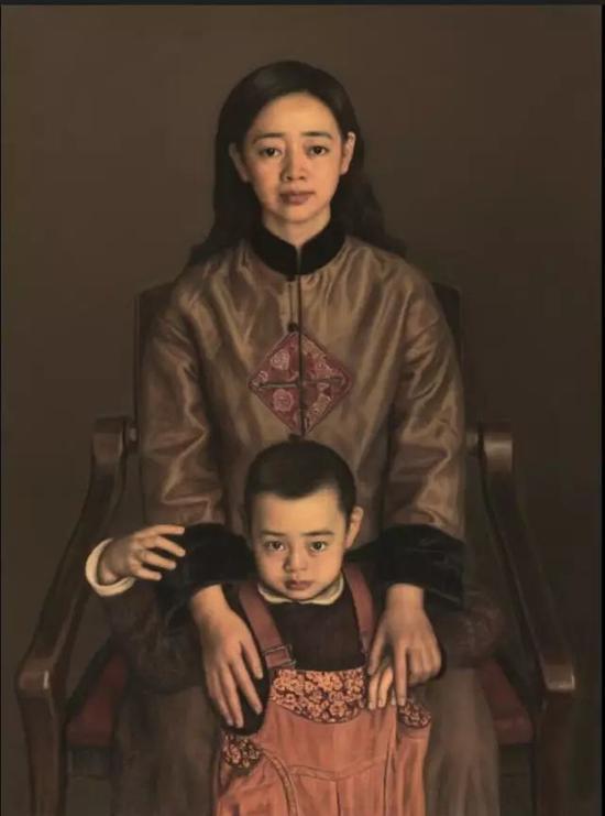 杨飞云圣洁的爱130cm×97cm2006年