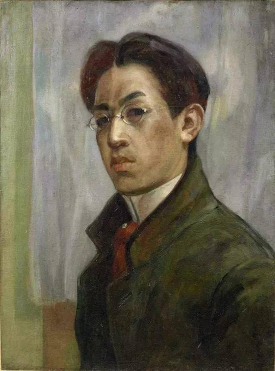 1910年 藤田嗣治自画像