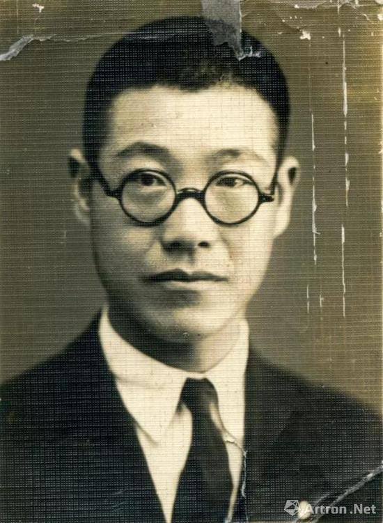 潘天寿(摄于20世纪20年代)
