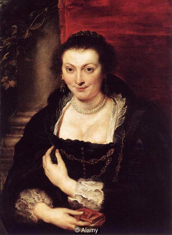 鲁本斯《伊莎贝拉・勃兰特》