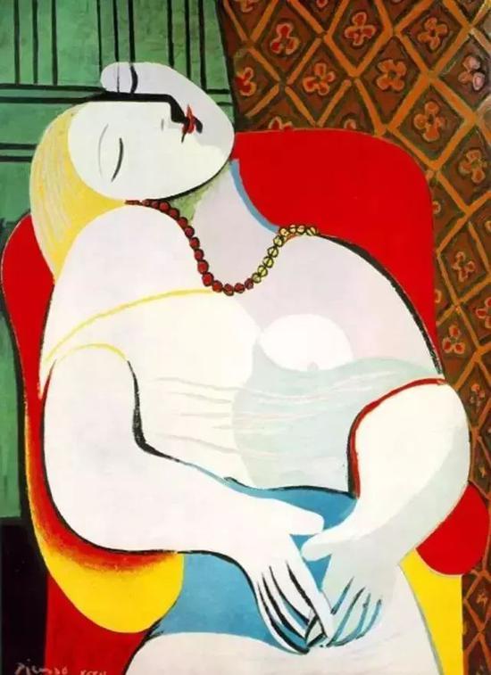 毕加索《梦》,1932年