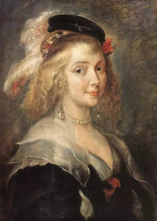 Portrait of Helena Fourment 1630