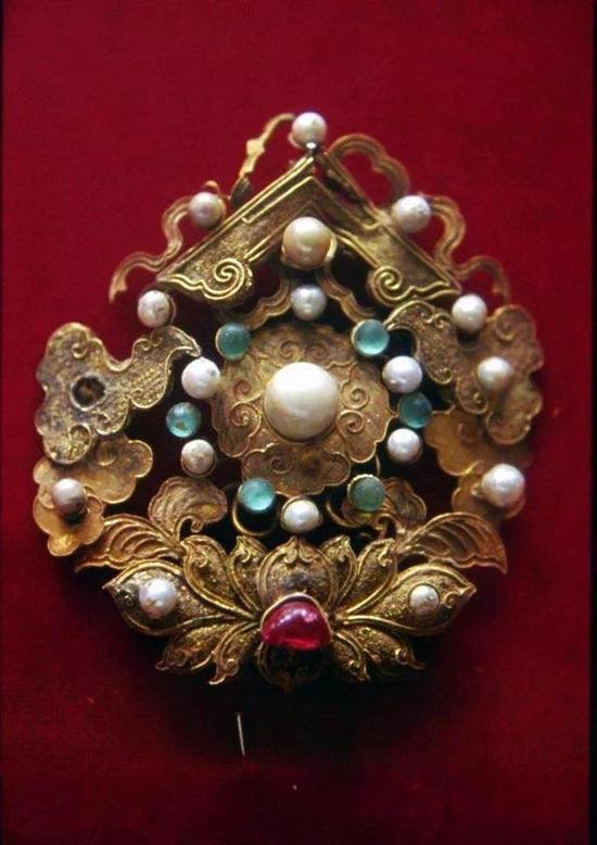 来自清宫的珍珠饰品