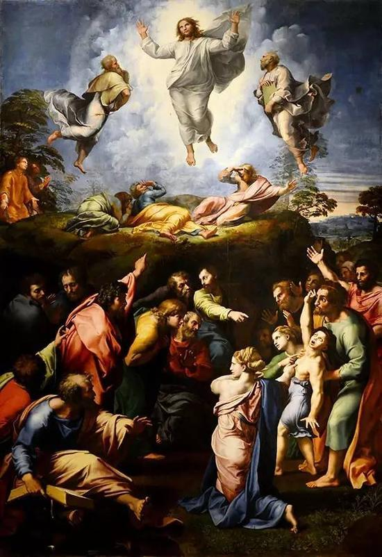 变形 The Transfiguration (1520)