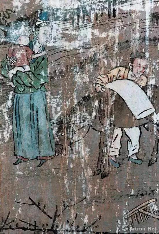 教民稼穑图之驮粮图