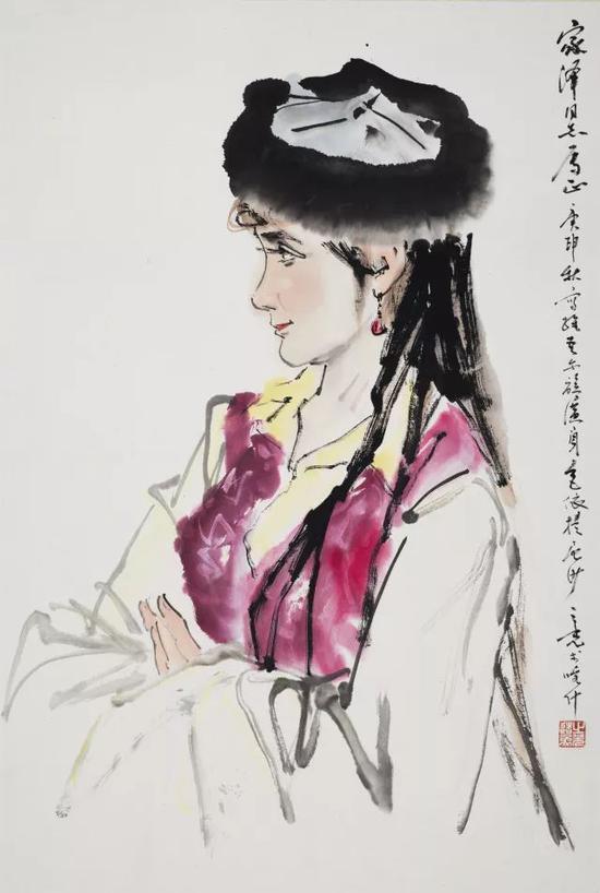 杨之光 少女