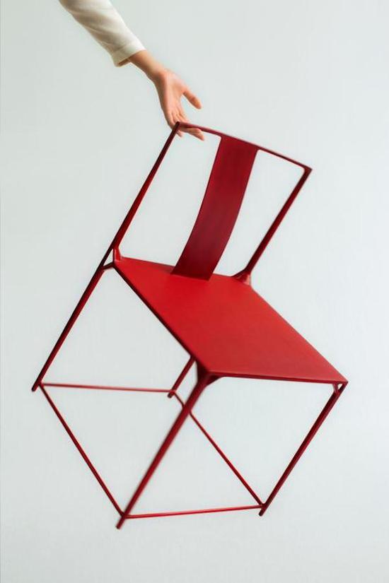 """""""桥""""系列竹丝扣瓷茶具、""""大天地""""系列碳纤维椅子"""